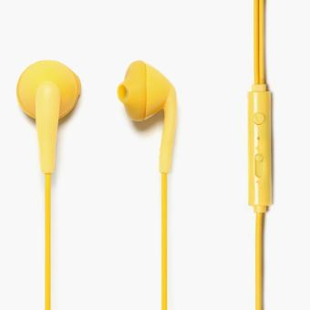 Hoco Universal Wire Control Earphones (Yellow)