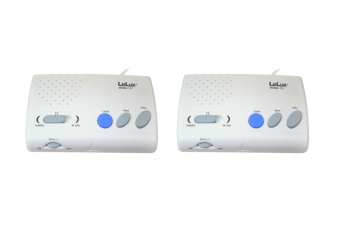 HomeSafe H-721 LeLux FM Wireless Intercom Two-Channel (White)