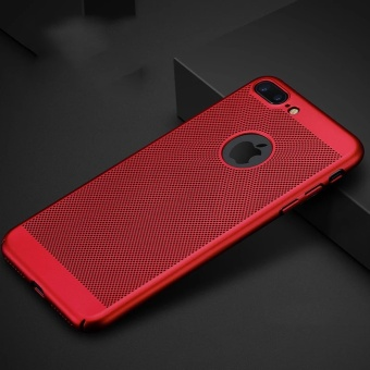 Honeycomb Back Cover Heat Dissipation Cooling Housing Cases For iPhone 6 - intl