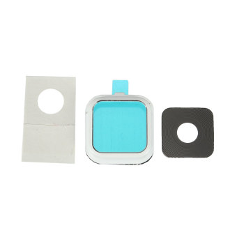 Hot Camera Glass Lens Cover Frame Replacement Part For Samsung Galaxy Note 4 N910 White NEW - intl