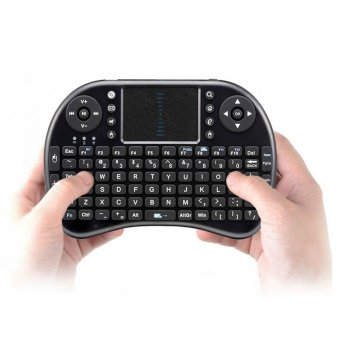 HOT Mini Wireless Keyboard Air Mouse i8 2.4G USB QWERTY KeyboardWith Touchpad Teclado For PC Laptop Android TV BOX Xbox360 - intl
