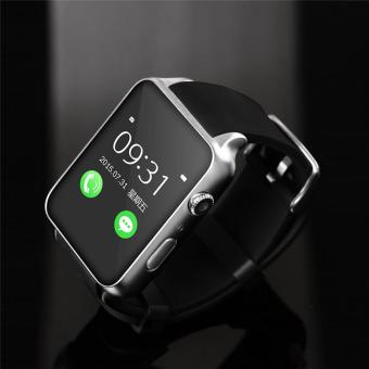 Hot Sales GT88 Bluetooth Waterproof Smart Watch Heart Rate Monitor Smartwatch Support TF/SIM Card for IOS Android System Smart Phone - Black - intl
