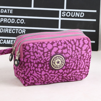 Hot selling hair three layer big screen mobile phone bag