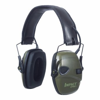 Howard Leight Impact Sport OD Electric Earmuff, Green - intl Price Philippines