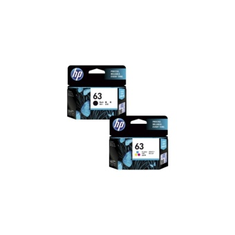 HP 63 Black And TriColor Combo Value Pack