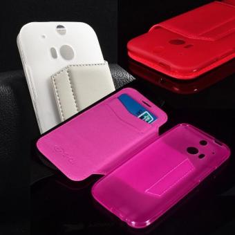 HTC M8/M8/M8 silicone flip protective case phone case