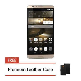 Huawei Ascend Mate 7 32GB (Gold) with FREE Premium Leather Case