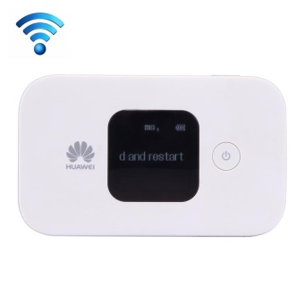 Huawei E5577Cs-321 Wireless Mobile Hotspot 4G WiFi Router With LCDScreen, Sign Random Delivery(White) - intl