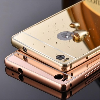 Huawei P7 Luxury Mirror Design Metal Aluminum Frame + Acrylic BackCase-intl - 4