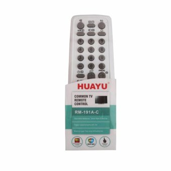 Huayu RM-191A-C Common Universal TV Remote Control for Sony brand(White/Blue) #0123