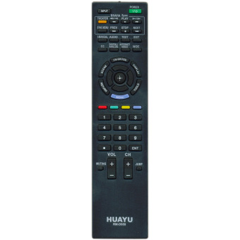 Huayu RM-D959 Replacement TV Remote Control for Sony LCD/LED #0389(Black)