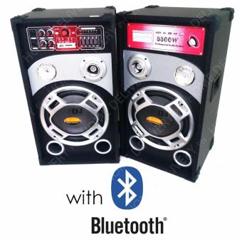 HUG B1012 Speaker System with Bluetooth, USB Port, Radio andEqualizer