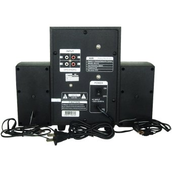 HUG H28-215 Subwoofer Speaker w/ USB slot & built-in FM Radio - 3