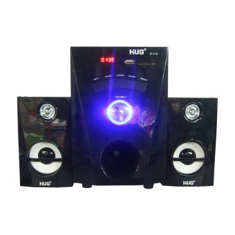 HUG H28-216 Subwoofer Speaker w/ USB slot & built-in FM Radio