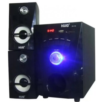 HUG Music-216 3D Surround Sound Speaker (Black)
