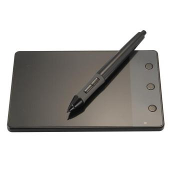 Huion USB Writing Drawing Graphics Board Tablet 4x2.3 inch + Digital Pen