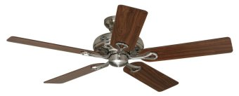 "Hunter HF-24922 52"" Savoy Ceiling Fan (Brushed Chrome) - picture 2"