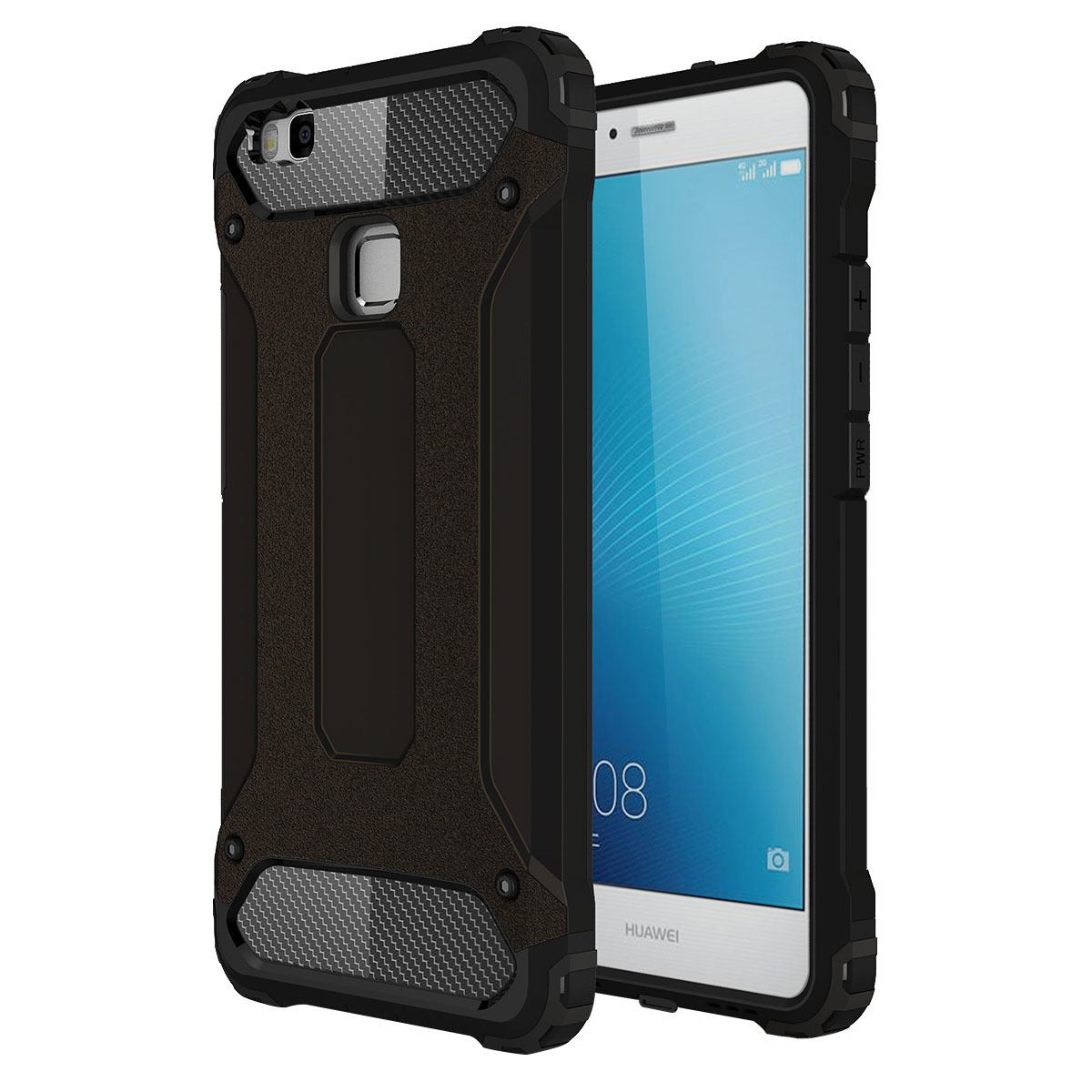 Moonmini Ultra Slim Lightweight Source Hybrid Armor Back Case Cover for Huawei P9 .