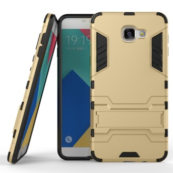 Hybrid Combo Rugged Case for Samsung Galaxy A9 Pro (2016) (Golden)
