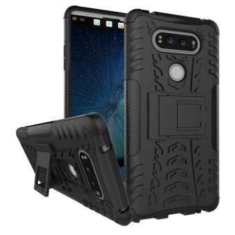 Hybrid High Impact Shockproof Case Cover For LG V20 (Black) - intl