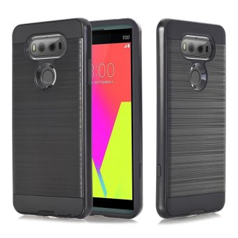 Hybrid ShockProof Hard Protective Case Cover for LG V20 black - intl
