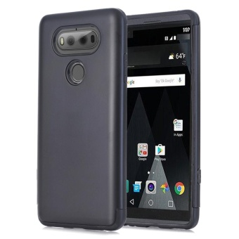 Hybrid ShockProof Hard Protective Case Cover for LG V20 Black -intl