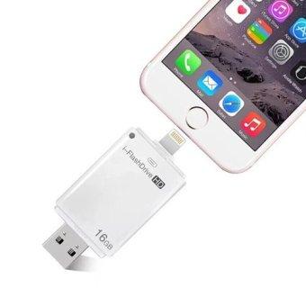 i-Flashdrive 16GB OTG Flash Drive (White) - 3
