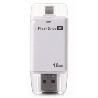 i-Flashdrive 16GB OTG Flash Drive (White)