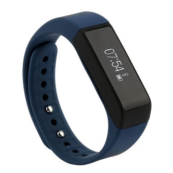 I5 PLUS Bluetooth Smart Wrist Watch Band Bracelet Phone Mate forXiaomi Huawei iPhone Samsung (Blue)