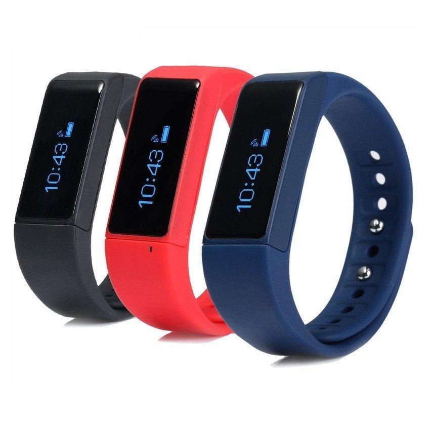 I5 Plus Smart Bracelet Bluetooth 40 Waterproof Touch Screen Fitness Tracker Health Wristband Sleep Monitor Smart