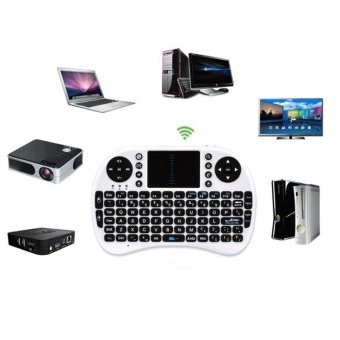 i8+ 2.4G Mini Wireless Keyboard Mouse Touchpad for PC Smart TVAndroid Box - intl - 2