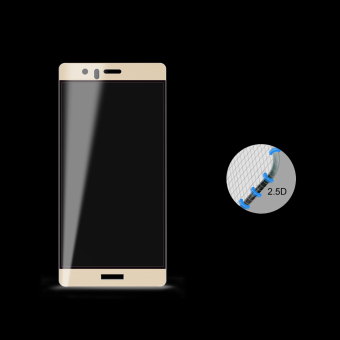 ICHECKEY (2 Pack) 0.33MM 2.5D Full Coverage High DefinitionUltra-Clear Tempered Glass Screen Protector for Huawei P9 Plus(Gold) - intl - 2