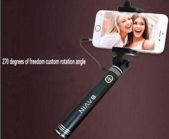 IDEAL1 Bavin H520 Extendable Selfie Stick Monopad For IOS andAndroid Smartphones (Black)