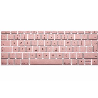 IDEAL1 Metal Color Keyboard Protector For Apple Mac-book 13.3 InchAir / Pro / Retina (Rose Gold)-(Intl) with Free Mobile SiliconePhone Case (color may vary)
