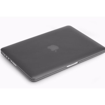 IDEAL1 Rubberized Protective Case For Apple Mac-book 13.3 Inch Air(Black)