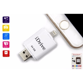 iDrive 64GB iReader OTG USB Flashdrive External Storage for AppleiOs