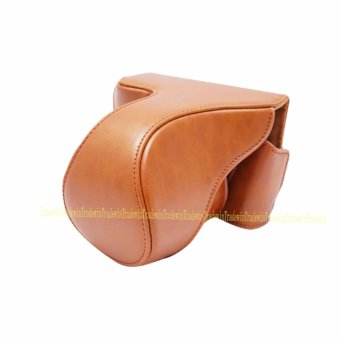 Harga Luxury Vintage PU Leather Camera Bag For Fuji XA2 - intl
