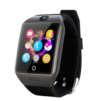 Harga Apro Bluetooth Waterproof Smartwatch Support NFC SIM Card Camera(Black) - intl
