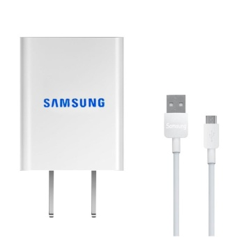 2A Travel / Home Mini Quick Charger For Samsung Galaxy S3 / S4 / J1 / J7 / J5 / A8 / A7 / A5 / A3 / E7 Whit USB Cable Price Philippines