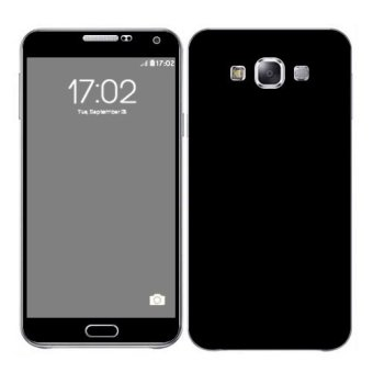 Oddstickers Matte Black Skin Cover for Samsung Galaxy E7 Price Philippines