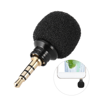Harga Andoer Cellphone Smartphone Portable Mini Omni-Directional Mic Microphone for Recorder for iPad Apple iPhone5 6s 6 Plus Outdoorfree - intl