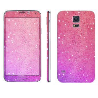 Samsung Galaxy S5 Glitter Pink Phone Skin by Oddstickers Price Philippines