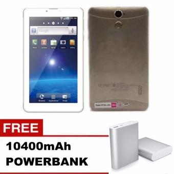 "Sunsonic L08A 7"" 3G Dual Sim Cellular Tablet 8GB Free 10400mAh Power Bank (Gold) Price Philippines"