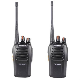 Baofeng BF-666S Walkie Talkie FM Transceiver Set Of 2 Price Philippines