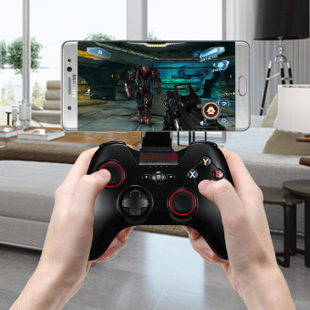 Lazytech Apollo LZ-1000 Bluetooth Wireless Gamepad For Android (Black) Price Philippines
