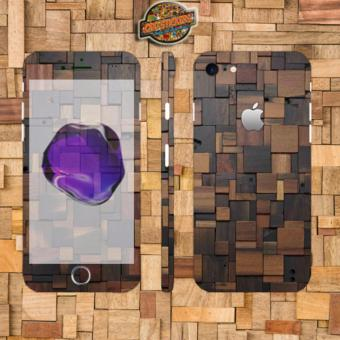Oddstickers wood 4 Phone Skin Cover for iPhone 7 Price Philippines