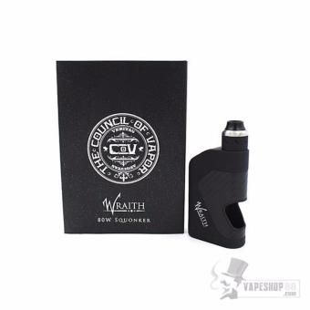 Council Of Vapor Wraith 80w Squonker Kit (Black)(Black) Price Philippines