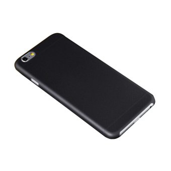Harga Ultra Slim PP Protective Phone Case for iPhone 6 (Black)