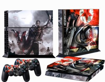 Harga Warriors Vinly Skin Sticker for Sony PS4 PlayStation 4 and 2 controller skins
