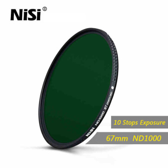 Harga Nisi 67mm Nd1000 Filter Neutral Density Filters Ultra Slim Nd 1000 Gray Filter Mirror Landscape Photography Lens - intl